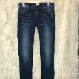 Hudson Carly Straight Jeans size 27